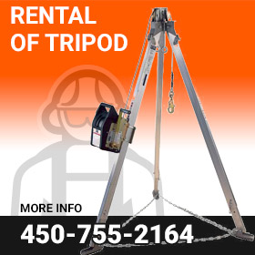 Rental of Tripod